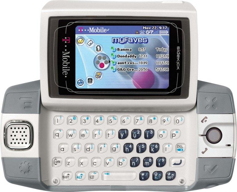 Do You Remember the T-MobileSidekick?