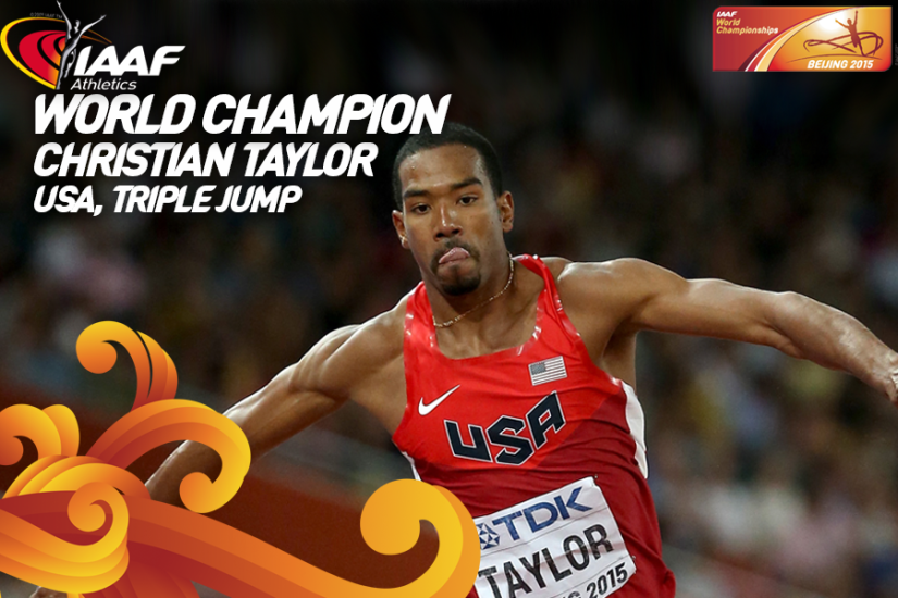 Christian Taylor Almost Set the Triple Jump WorldRecord!